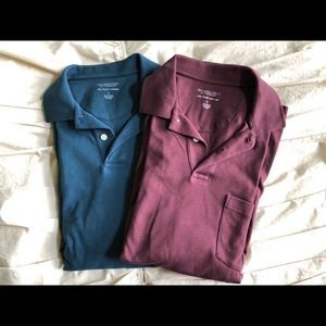Other - Men's Long Sleeve Polo Set
